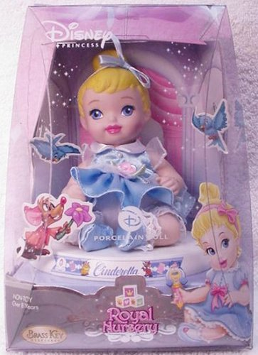 Disney Princess Royal Nursery Porcelain Cinderella by Brass Key Keepsakes -