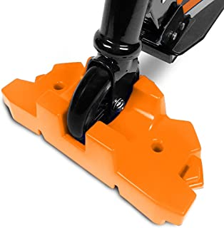 product image for 50 Strong Scooter Stand - Fits Most Scooters - Interlocking Offset Extra Stable Base - Orange