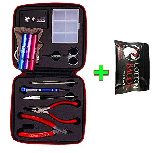 Jig Spule DIY Tools Kit, bauen Spule Kit Komplettpaket,Enhanced Edition(VAPE Grundlegende Werkzeuge)