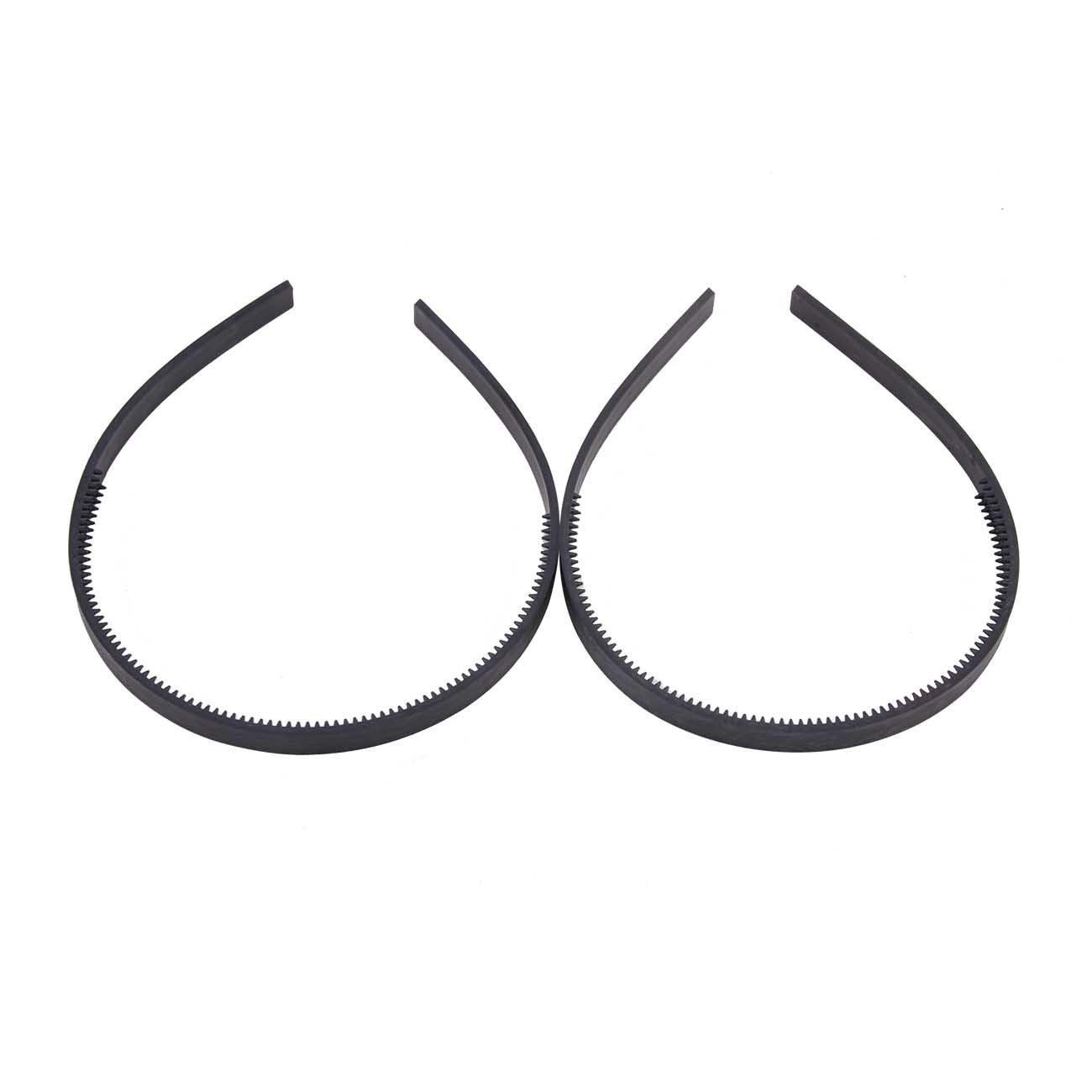 MOHOT Width Womens Girls Plain with Teeth Plastic DIY Hair Accessories Headbands Headwears 36pcs Per Pack