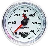 Auto Meter 7170 C2 2-1/16'' 0-60 PSI Full Sweep Electric Boost Gauge