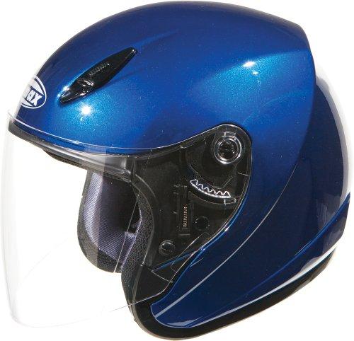 GMax GM17 Blue Open Face Helmet - X-Large