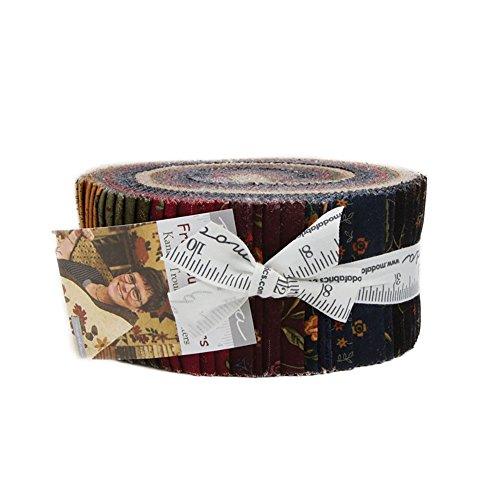 Kansas Troubles Fresh Cut Flowers Jelly Roll 40 2.5-inch Strips Moda Fabrics ()
