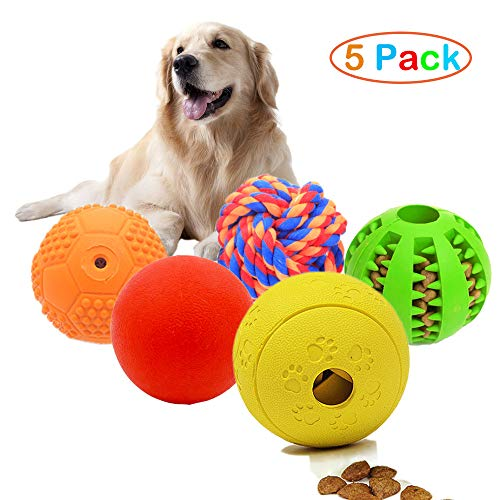 Vocalopets 5 Different Functions Interactive Dog Toys,Dog Puzzle Toys Treat Ball...