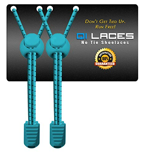 07aa0134f9f9e6 No Tie Shoelaces for Kids   Adults. Elastic   Silicone Shoe Laces to  Replace Your. Hover to zoom