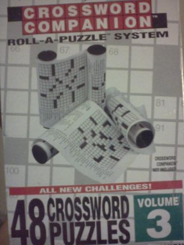 The New York Times Crossword Companion Roll-A-Puzzle Refill 48 Crossword Puzzles Volume 3 by SUNATORIA