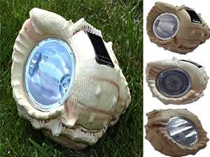 Pack de 4super bright funciona con energía solar Jardín carcasa luz, resistente a la intemperie, inalámbrica, sin pilas