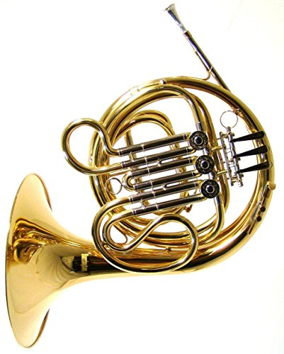 Barrington Model BR FR213 Single French Horn in F  Lacquer Finish by Barrington