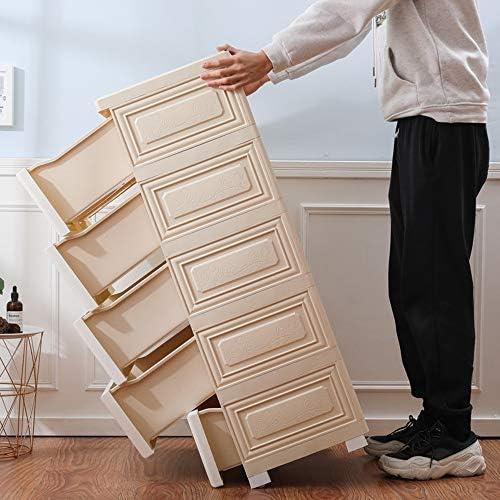 シンプルなワードローブ 引き出し収納キャビネット主催ユニット用の服おもちゃベッドルームプレイルームのための家 ワードローブ (色 : White, Size : 100x50x35cm)