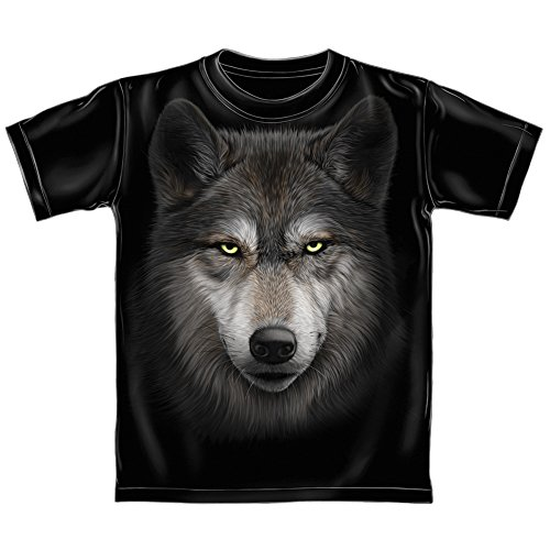 Wolf Face Adult Tee