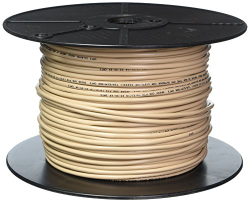 COLEMAN CABLE INC 96204-05-33 24/4 Pair Round Phone Wire, 500-Feet, Beige