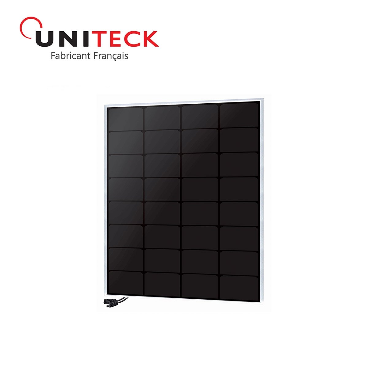Solarpanel unisun 50W back-contact 12V
