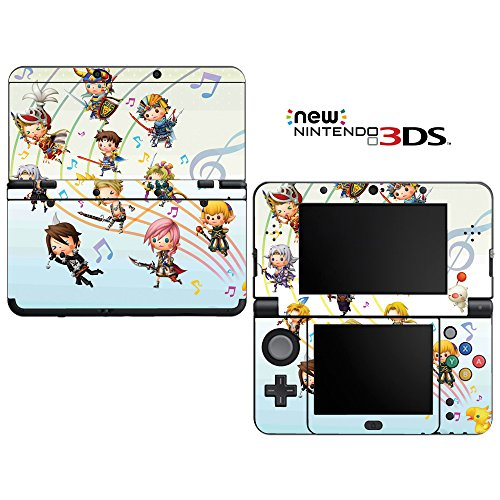 FF Decorative Video Game Decal Cover Skin Protector for New