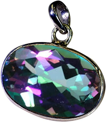 Jewelryonclick Genuine Marquise Shape Sterling Silver Blue Topaz Pendant For Women