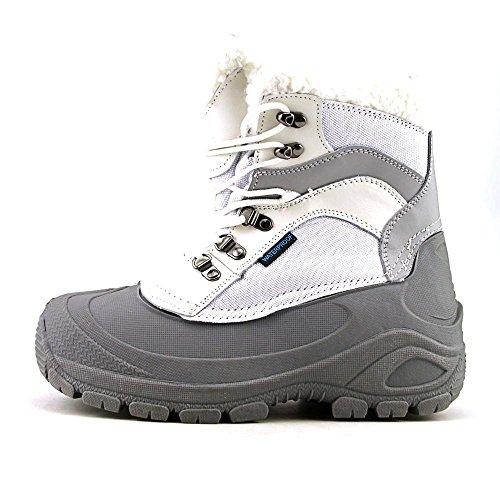 Itasca Womens Sleigh Bell Ski Boot White/Grey 5ciZEy