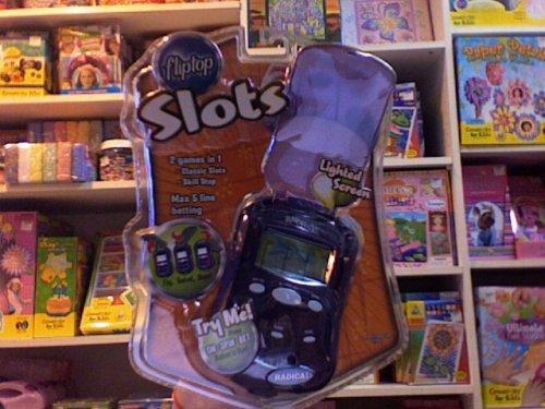 Radica FlipTop Slots Hand Held Electronic Game - Las Vegas Skill Stop