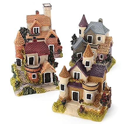 5Pcs Dog Set Animal Miniature Fairy Garden Home Decoration Mini Craft  UK