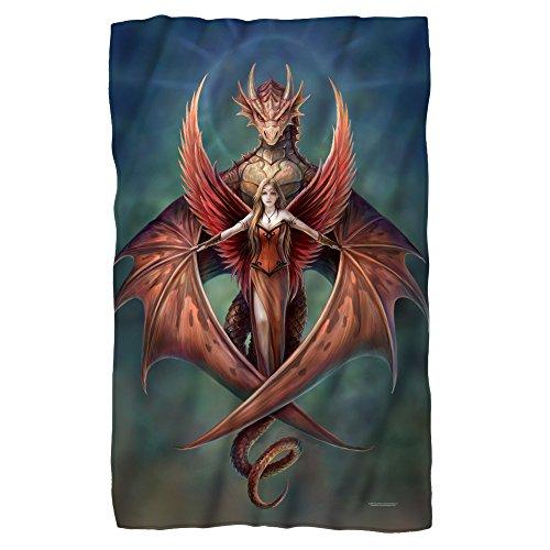 2Bhip Anne Stokes Gothic Fantasy Art Fire Dragon Copperwing