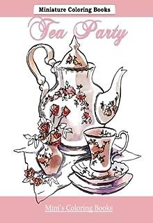 It\'s Tea Time Minature Coloring Books: Adult Coloring Books Tea ...