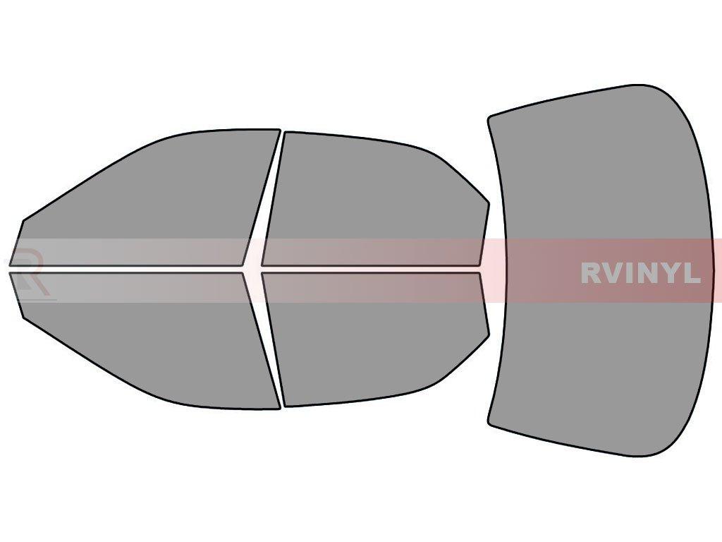 Rtint Window Tint Kit for Honda Accord 1994-1997 - Complete Kit 20/% Sedan