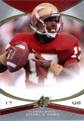 2013 Upper Deck SPX Football Card #31 Charlie Ward Florida State Seminoles