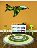 camouflage wall decals - Wall Decal Sale : Camouflage Military Army Plane Size: 16 Inches X 24 Inches