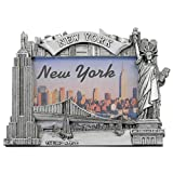 new york frame - New York Picture Frame -Poly Silver, New York Picture Frames, New York Souvenirs