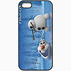 Personalized iPhone 5 5S Cell phone Case/Cover Skin Movie frozen 2013 latest movie Black