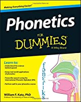 Phonetics For Dummies Front Cover