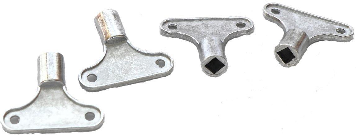 RMB® 4er Set Heizungs-Entlüftungs-Schlüssel