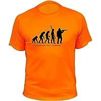 Camiseta de Caza, Evolucion del Hombre - Regalos