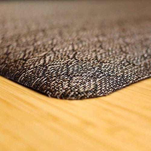 Luxe Therapeutic Floor Mats - Woven Vinyl is UV Stable - Greenguard Certified (Driftwood|2x3) by Luxe