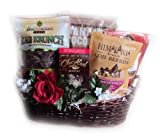 Raw Vegan Valentine's Day Gift Basket by Well Baskets