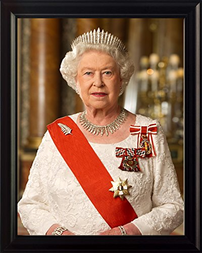 Queen Elizabeth II 8x10 Framed Photo (Queen Elizabeth Photo)