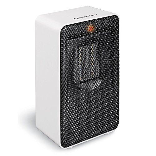 Portable Compact Ceramic Heater, White by Collections Etc