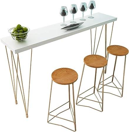Drhysfsa Home Table De Bar Cuisine Petit Dejeuner Meubles De Bar