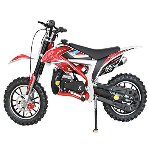 Goggle and Handgrip X-Pro Bolt 50cc Dirt Bike Gas Dirt Bike Kids Dirt Bikes Pit Bikes Youth Dirt Pitbike 50cc Mini Dirt Bike with Gloves
