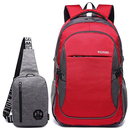 Bolso de hombro de los hombres/[mochila]/Bolso de mujer/Academia los estudiantes de secundaria en las bolsas de viento/bolsos de la computadora de negocios casual-G G