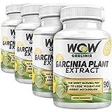 Wow Garcinia Cambogia - 800 mg - 90 Veg Capsules (Pack of 4)