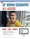 img - for AP   Human Geography All Access Book + Online + Mobile (Advanced Placement (AP) All Access) by Sawyer, Dr. Christian (January 18, 2012) Paperback Pap/Psc book / textbook / text book