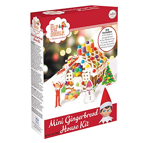 Mini Elf on the Shelf Gingerbread House Kit