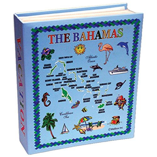 Rockin Gear Photo Album The Bahamas Gift Souvenir Photo Album Holds 100 Pictures 4