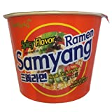 Samyang, Ramen Spicy Flavor Big Bowl, 4.05 oz