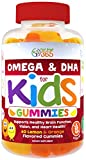 Kids Complete Omega Gummy Vitamins from Feel Great 365: Omega 3-6-9 DHA from Algae, Chia & Coconut Oil - Vegan, Fish Free, Supports Brain & Immune Functions, All Natural Children's Supplement.