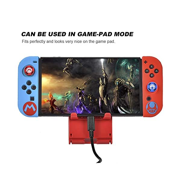 Skins/Protectors for Nintend Switch Joycon Nintendoswitch Soft Silicone Protective Case Controller Cover for Nintendo Switch Gamepad-(Green&Yellow) 7