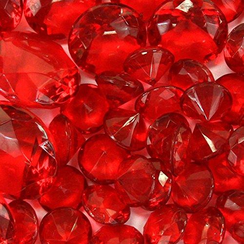 decorative gems red - 5