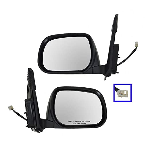 US Made Door Mirror Glass Replacement Driver Side For Toyota RAV4 06-11