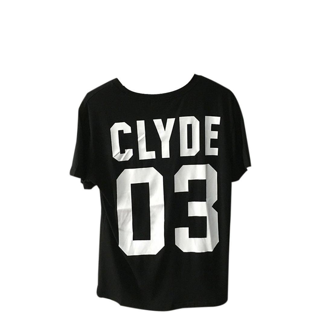 tenworld Bonnie 03 & Clyde 03 carta impresión a juego par camisas ...