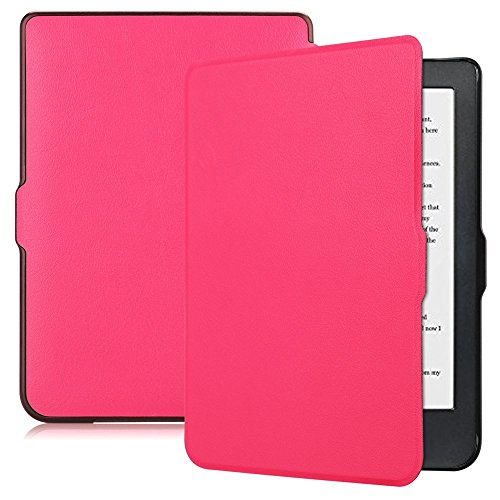 Clara Slip - Kobo Clara HD Case, Fitmore PU Leather Tablet Fashion Shockproof Non-slip and Scratch Resistant Flexible Guard Protector Cover