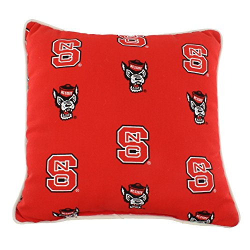 Nc State Pillow - College Covers NC State Wolfpack Outdoor Decorative Throw Pillow, 16